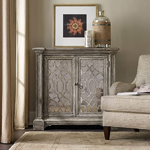 Hooker Furniture True Vintage 2 Door Accent Chest in Driftwood