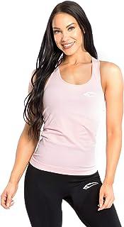 SMILODOX Seamless Top Femme Dash | Seamless - Chemise d'entraînement idéale pour Le Gym Fitness et l'entraînement | Sports sans Manches T-Shirt - Coupe Confortable - Sportstop - Maillot de Corps