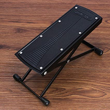 Fine Amazon Com Qtkk Guitar Foot Stool Height Adjustable Guitar Ocoug Best Dining Table And Chair Ideas Images Ocougorg