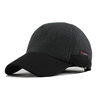 CoolBao Warm Winter Thickened Baseball Cap Men s Cotton Hat Snapback ... 6bb8e83d0d5