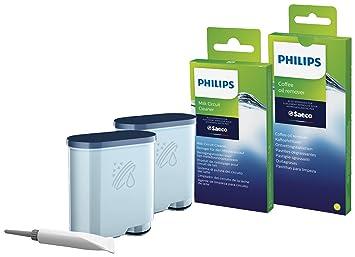 Saeco CA6707/10 Kit de Mantenimiento para Máquinas Automáticas Plástico, Verde: Philips: Amazon.es: Hogar