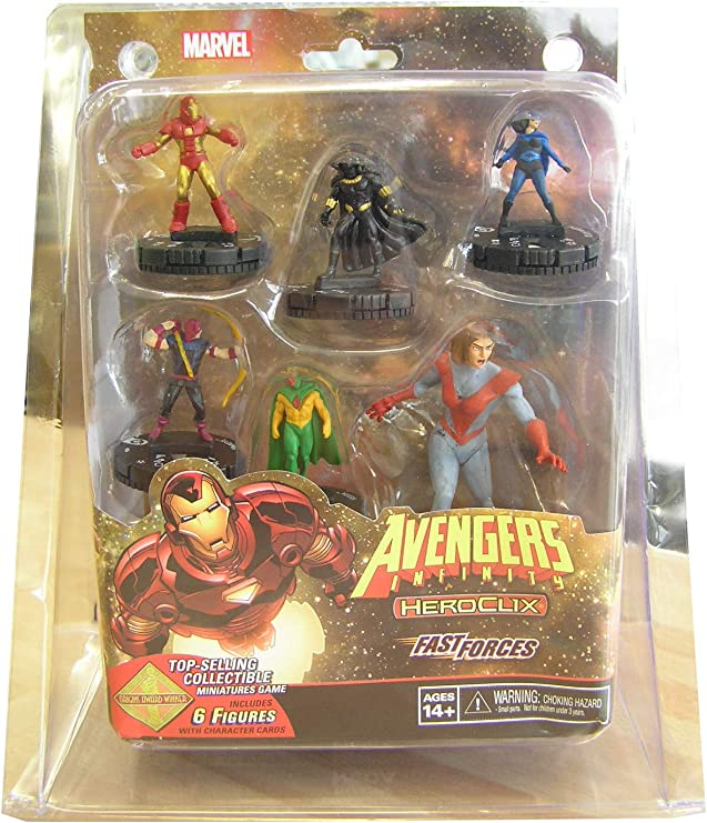 Heroclix Marvel Avengers Infinity Fast Forces Pack: Amazon.es ...