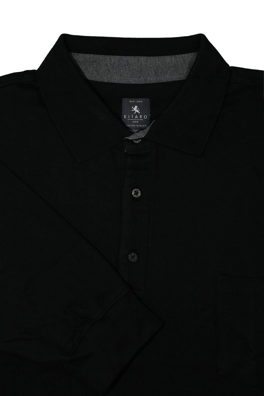 Kitaro Polo Poloshirt Polosweat Herren Kurzarm Übergröße Plusgröße   Amazon.de  Bekleidung 2469ab9f27