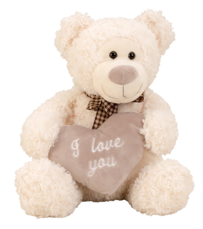Mimosa del oso de peluche de 32 cm de altura con el corazón Te amo Lifestyle & More