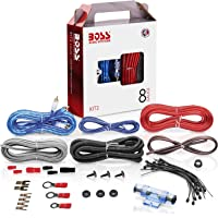 BOSS Audio Systems KIT2 8 Gauge Amplifier Installation Wiring Kit - A Car Amplifier Wiring Kit Helps You Make…