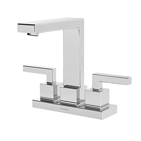 Amazon.com: Symmons Duro SLC-3612-1.5 Two Handle Centerset Lavatory ...
