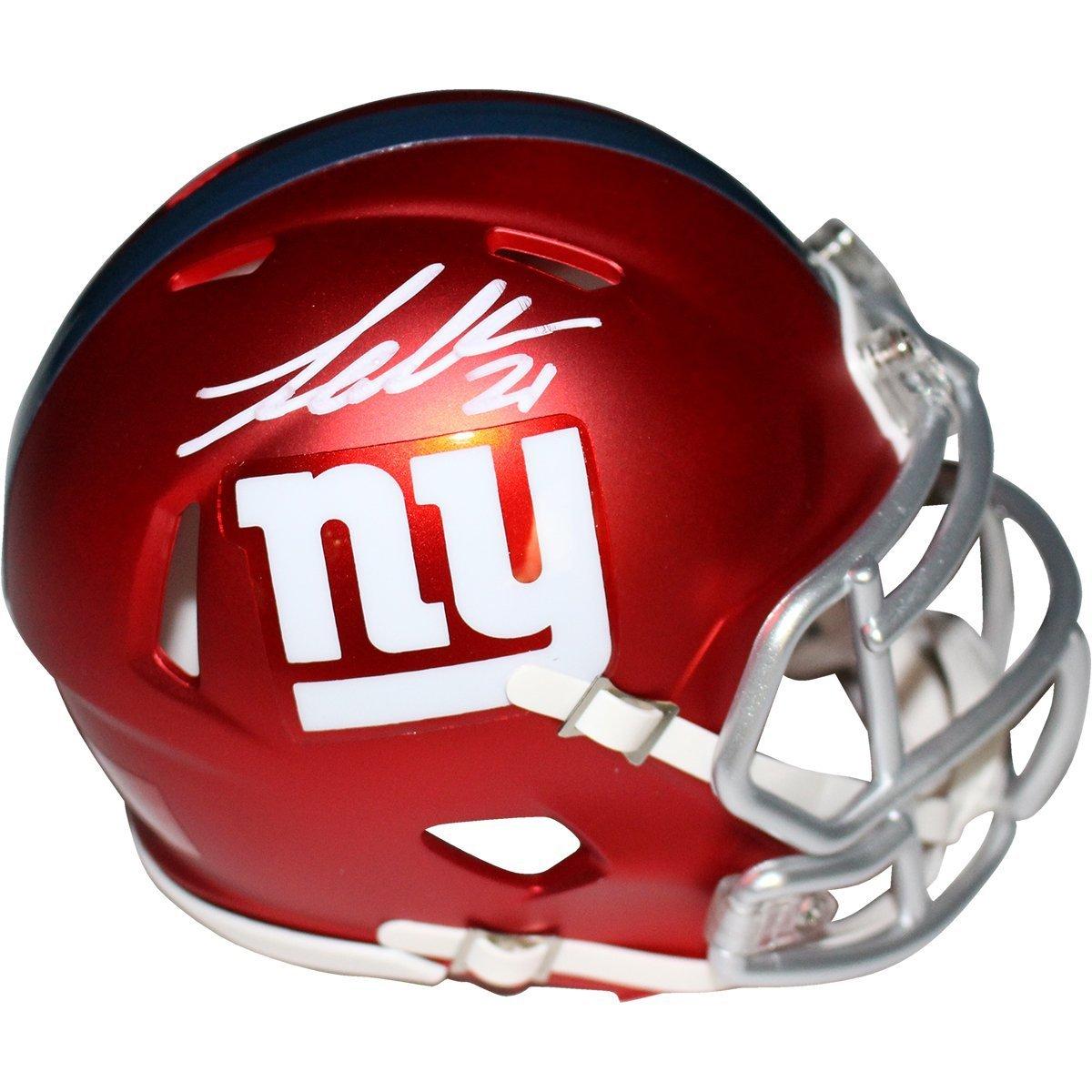 Amazon.com  Landon Collins Signed New York Giants Blaze Speed Mini Helmet ( Fanatics SSM)  Sports Collectibles 0c567001b