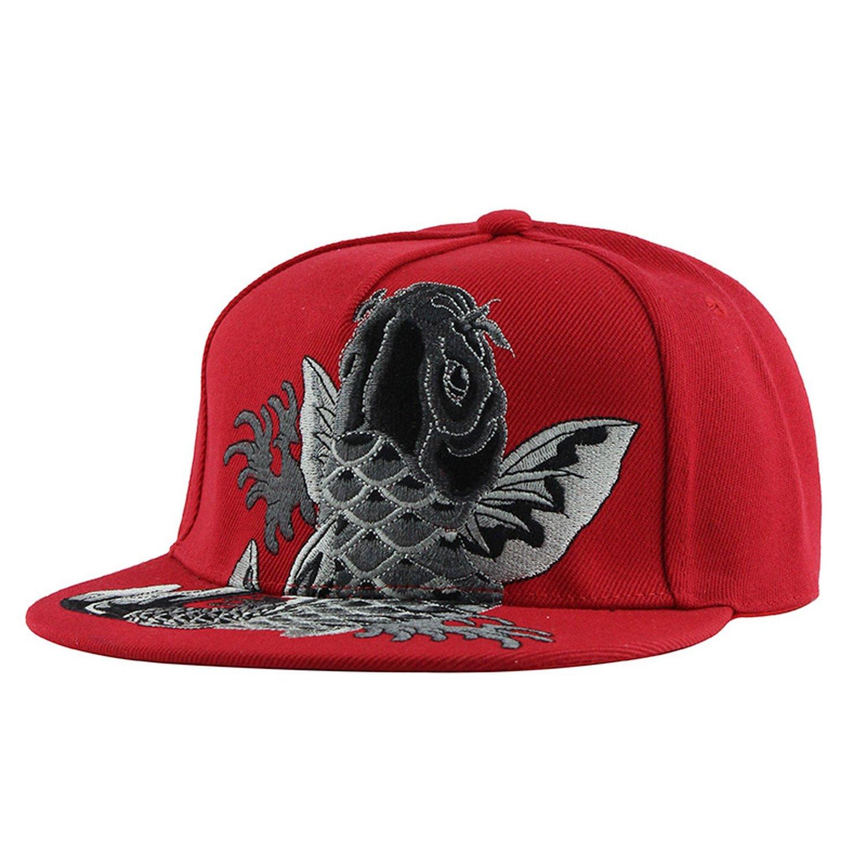 c3e5949ee49 Kerr Kellogg Snapback Cap Embroidery Flat Brim Baseball Cap Cotton Youth Hip  Hop Cap and Hats for Men Women at Amazon Women s Clothing store