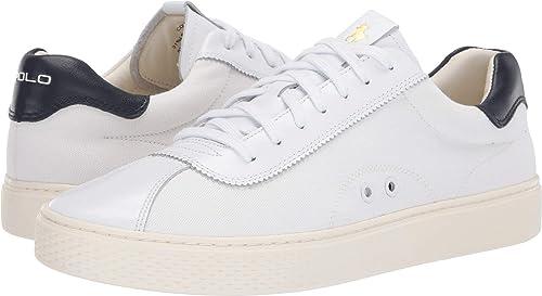 0137ab865b Amazon.com | Polo Ralph Lauren Men's Court 100 Lux | Shoes