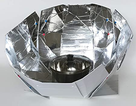 side facing haines 2.0 sunup solar cooker