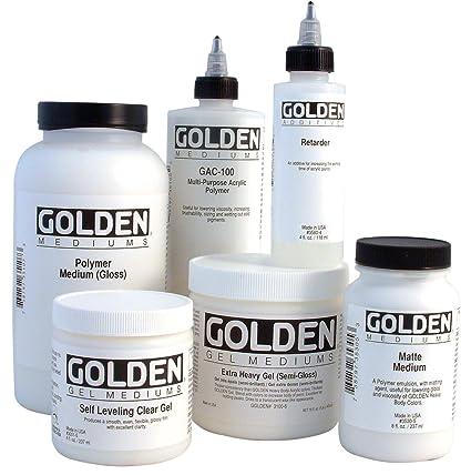 Golden Acrylic Polymer GAC-400 Stiffens Textiles / Fibers - 128 oz Jug