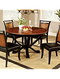 round dinner tables for sale. furniture of america cm3034rt salida i round pedestal dining table dinner tables for sale h