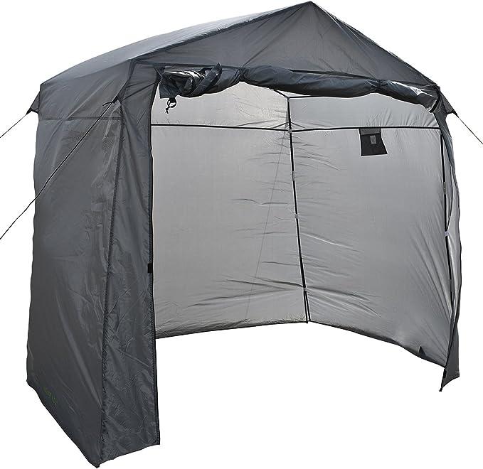 Charles Bentley Camping Extensión Campaña en Gris Poliéster y Fibra Vidrio: Amazon.es: Deportes y aire libre