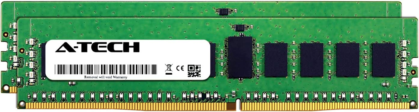 A-Tech 32GB Kit (2 x 16GB) for HP ProLiant ML110 Gen9 G9 - DDR4 PC4-23400 2933Mhz ECC Registered RDIMM 2Rx8 - Server Specific Memory Ram (AT322635SRV-X2R6)