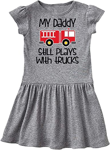 Inktastic Dad Is A Firefighter Infant Creeper Fireman Daddy Childs Boys Girls