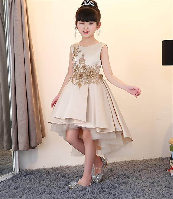 Amazon.com: ELEGENCE-Z Flower Girls Dresses, Bridesmaid ...
