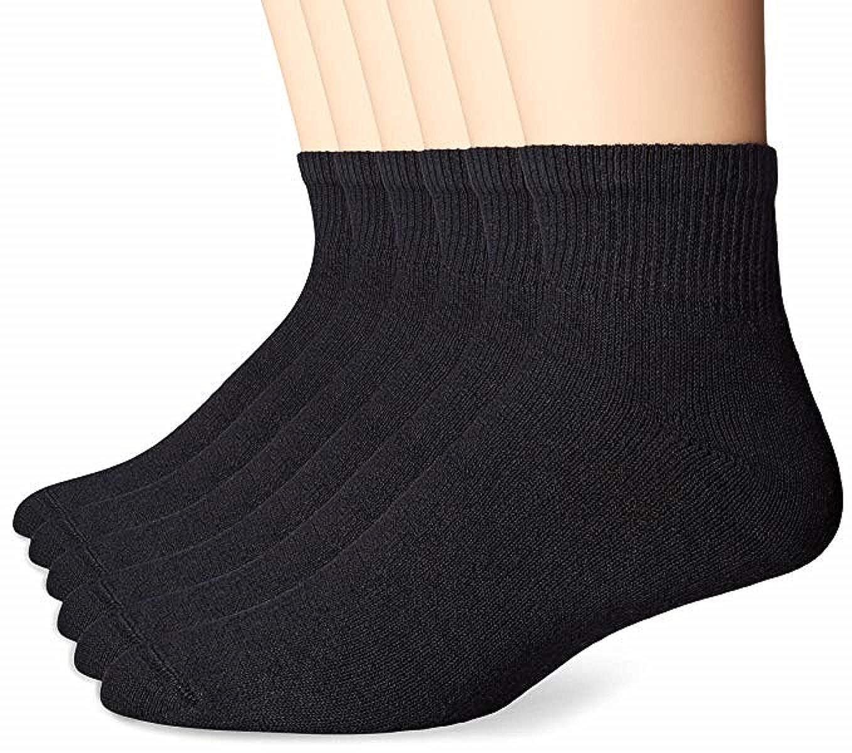 Hanes Men's Ankle Socks 6-Pack 911/6P