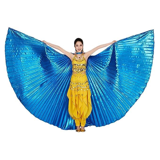 TAAMBAB Danza del Vientre Egipcio Disfraz de Alas ISIS - 360 ...