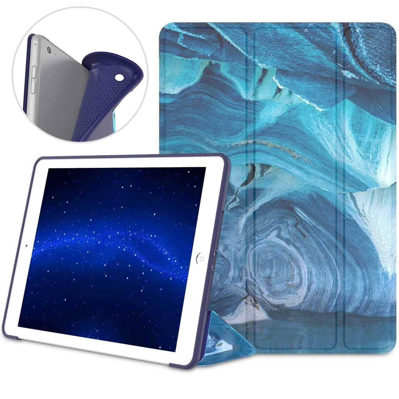 Vori iPad 9.7インチ2017ケース – 軽量スリムソフト柔軟TpuバックスマートStanding自動ウェイク/スリープ機能付きケースカバーfor Apple iPad 9.7