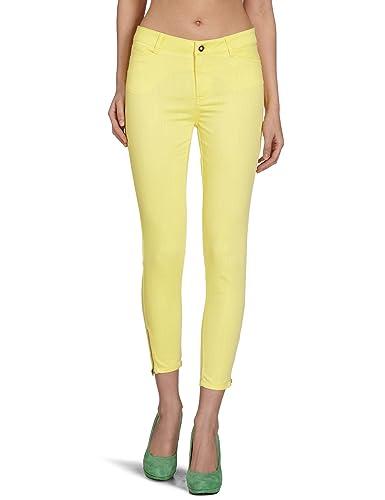 VERO MODA Damen Hose, 10077124 Wonder Colour Ankle Zip