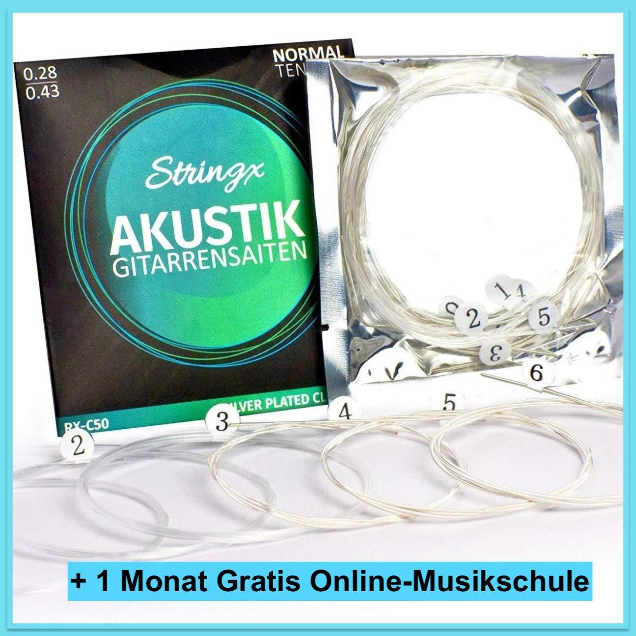 Cuerdas de nailon Stringx para guitarra acústica - Muy resistente ...