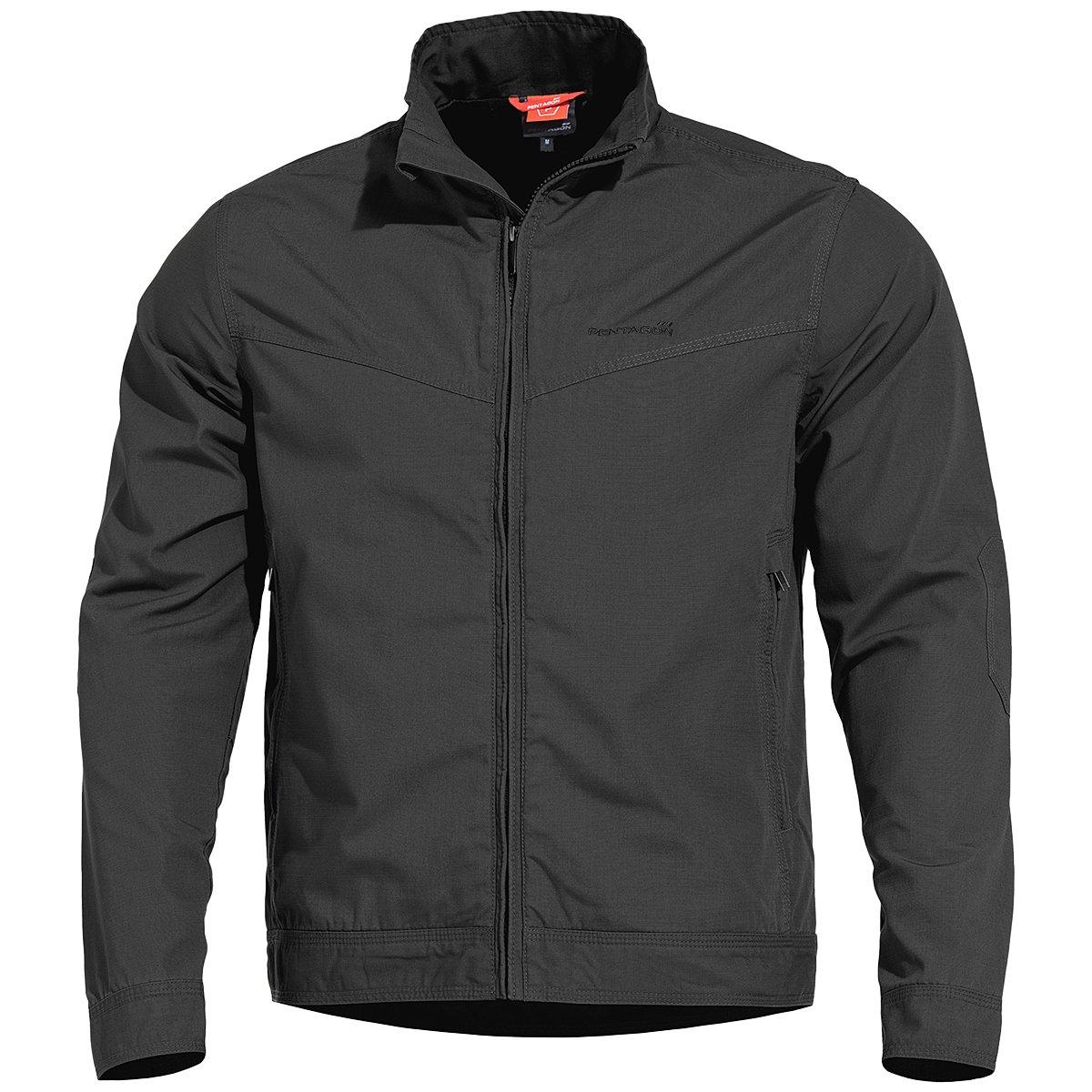 Pentagon Men's Nostalgia Jacket Ripstop Black Size L