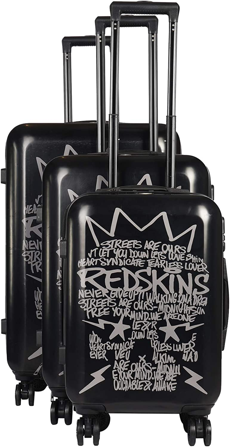 Redskins Set of 3 suitcases with wheels Unisexe