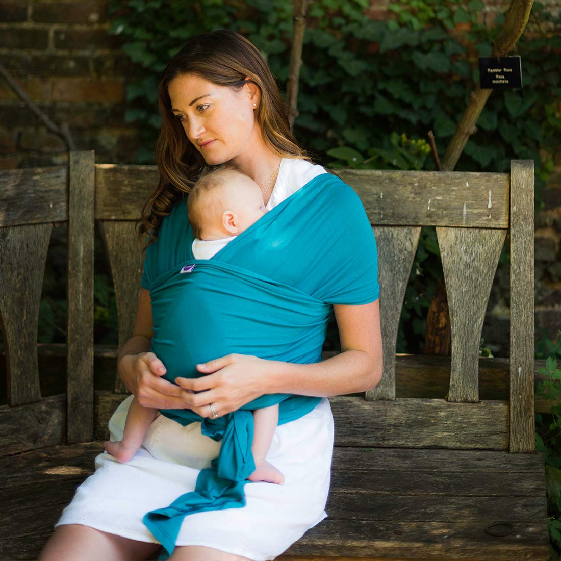 Slate Ideal for Newborns Izmi Wrap Made from Soft Bamboo