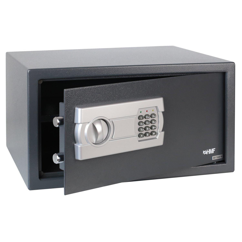 HMF–Cassaforte, con spazio per porttiles da 15pollici, 450x 250x 365mm HMF-Cassaforte
