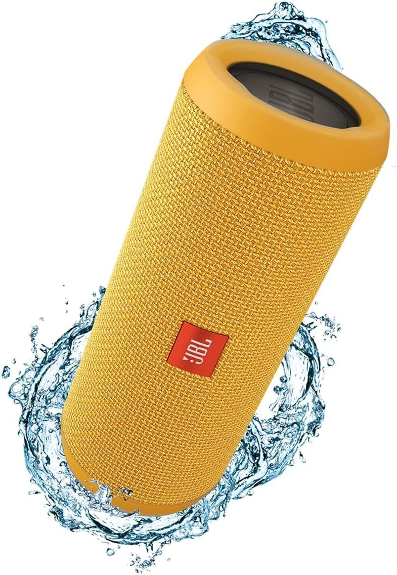JBL Flip 3 Splashproof Portable Bluetooth Speaker Yellow