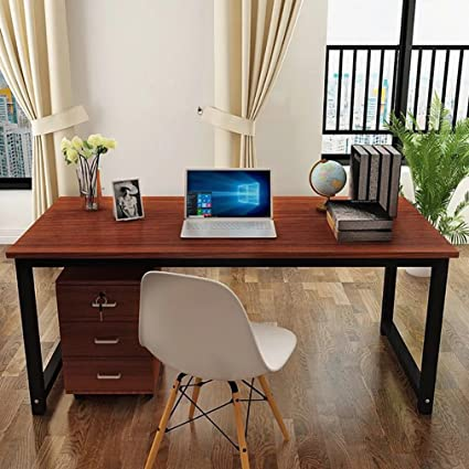 amazon com masmartox office computer desk writing desk 55in study