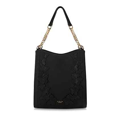 73fdd01c65f0 LaBante - Hobo Bag - Sylvaine - Black Handbags Slouch Bag Boho Bag Shoulder Bag  for Women