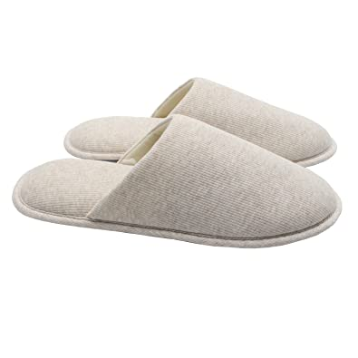 7f97d76e84c ofoot Men s Organic Cotton Cozy Indoor Slippers