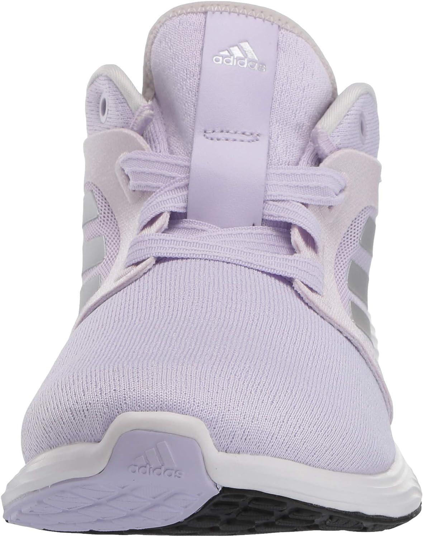 adidas Women's Edge Lux 3 Running Shoe Purple Tint/Silver Metallic/Grey