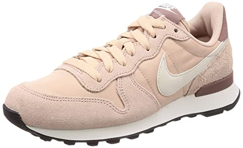 sports shoes 29ecb e0ea3 Nike Wmns Internationalist, Scarpe da Fitness Donna, Multicolore (Particle  Beige Summit White