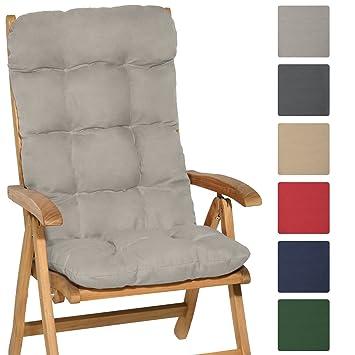 Beautissu Matelas Coussin pour chaise fauteuil de jardin terrasse ...