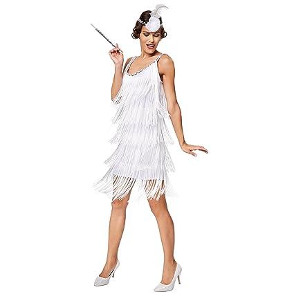 43294073dbe3 dressforfun Costume da donna Charleston Diva | Eccitante costume e un sogno  di colore bianco