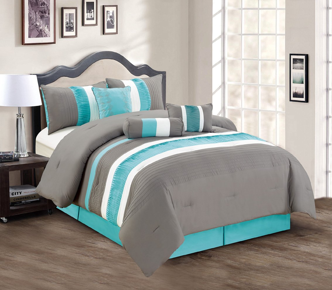 bath shipping set bedding teal comforter over orders blythe mi zone free overstock on product