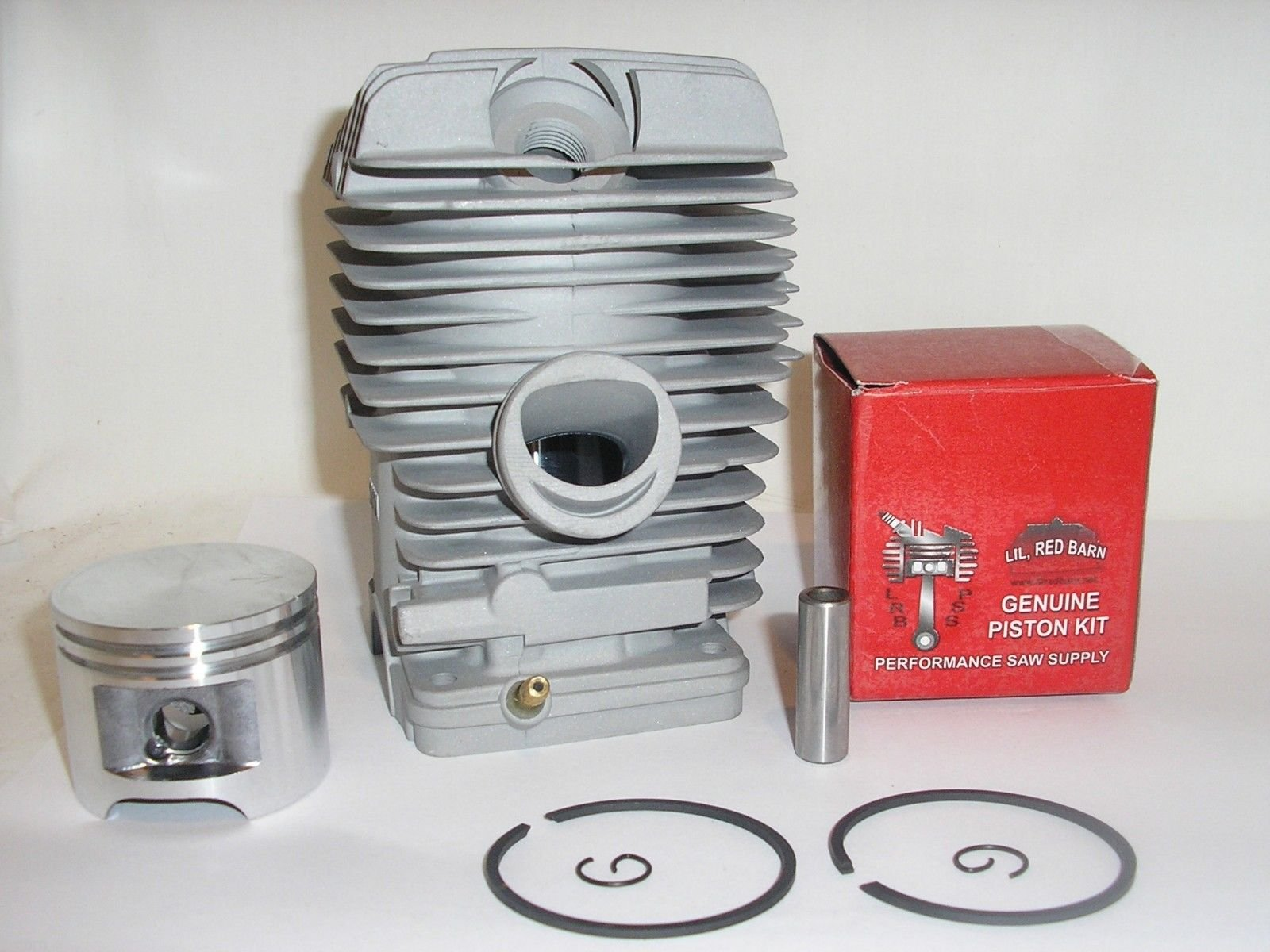 Lil Red Barn Stihl MS310 Cylinder & Piston Kit,47mm, Replaces Stihl # 1127-020-1214 Installation Instructions Included Two Day Standard Shipping to All 50 States!
