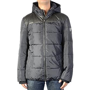 22112e73b15 EA7 Emporio Armani Down jacket 6XPB08 Black 1200  Amazon.co.uk  Clothing