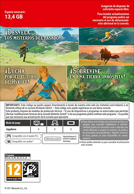 The Legend of Zelda: Breath of the Wild | Nintendo Switch ...
