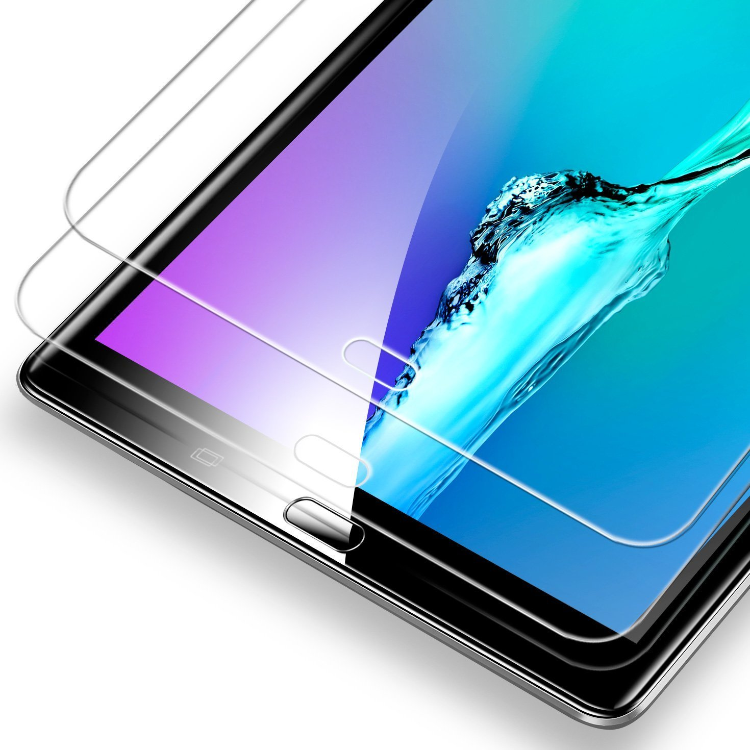 [2-Pack] Samsung Galaxy Tab A 10.1 Screen Protector, ESR Premium Tempered Glass Screen Protector for Samsung Galaxy Tab A 10.1 (SM-T580 / SM-T581 / SM-T585)