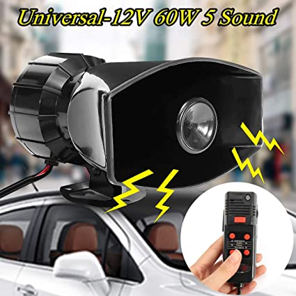 Loud Car Horn >> Gavita Star 60w 5sound Tone Car Horn Motorcycle Loud Car Warning