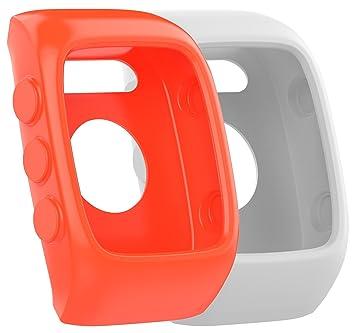 Funda protectora de repuesto para relojes Polar M430, de silicona suave y flexible, 2