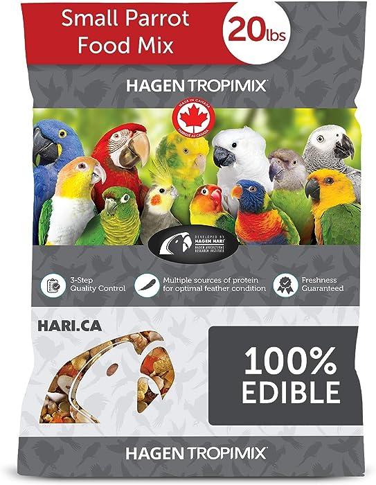 Top 10 Tropicana Parrot Food