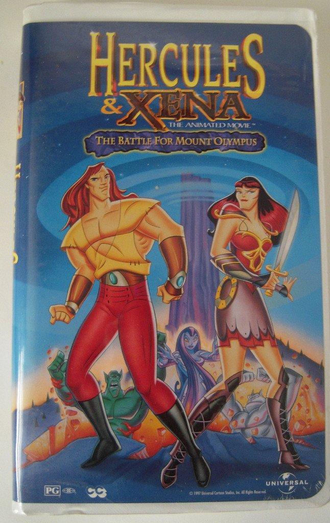 hercules and xena cartoon