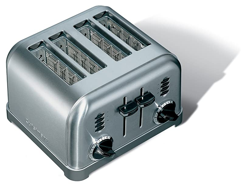 Cuisinart CPT180E Toaster 4 fentes extra larges, 1800 W, Acier ...