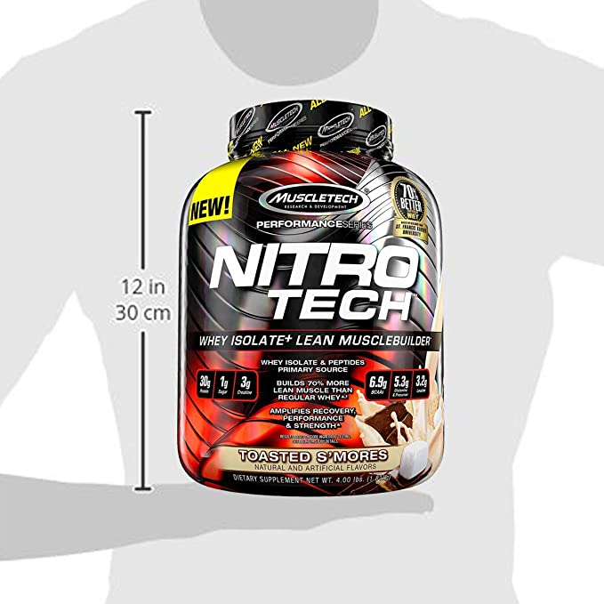 Muscletech Performance Series Nitro-Tech Toasted Smores - 1800 gr