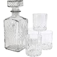 Coffret Whisky–1botella de whisky 930ml + 4vasos 200ML