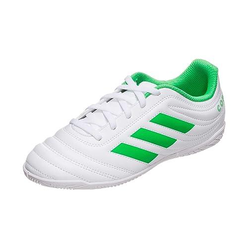 Adidas - Zapatillas fútbol Sala niños Copa 19.4 - Blanco, 33
